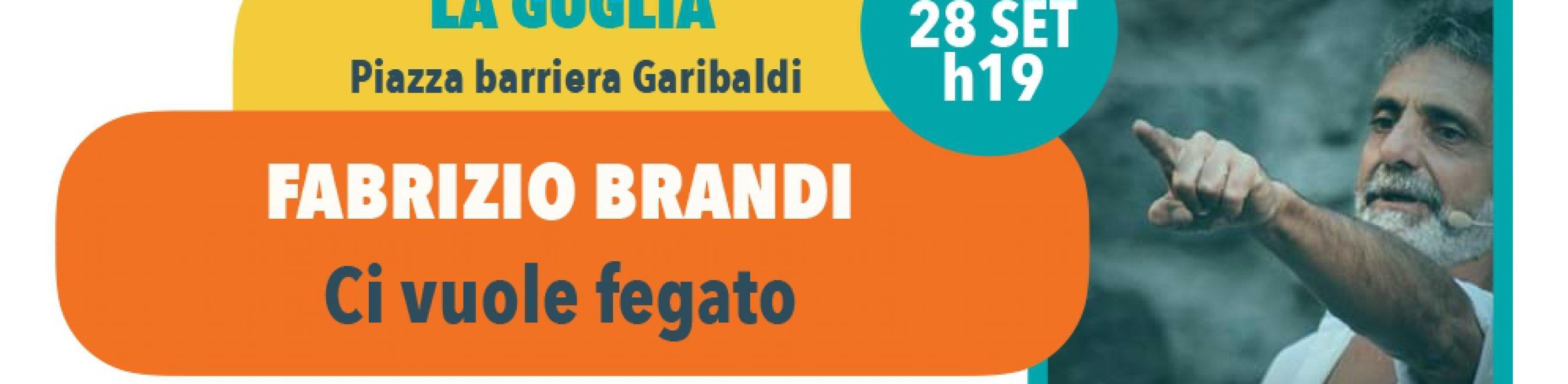 Giovedi 28 settembre, ore 19 - Scenari di Quartiere: La Guglia FABRIZIO BRANDI